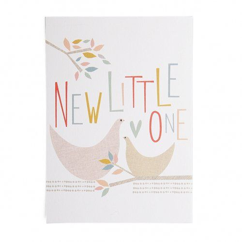 Afbeelding van Kaart, 'New little one'