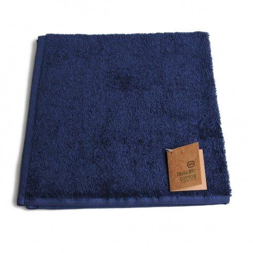 Essuie Mains Coton Bio Bleu 50 X 50 Cm