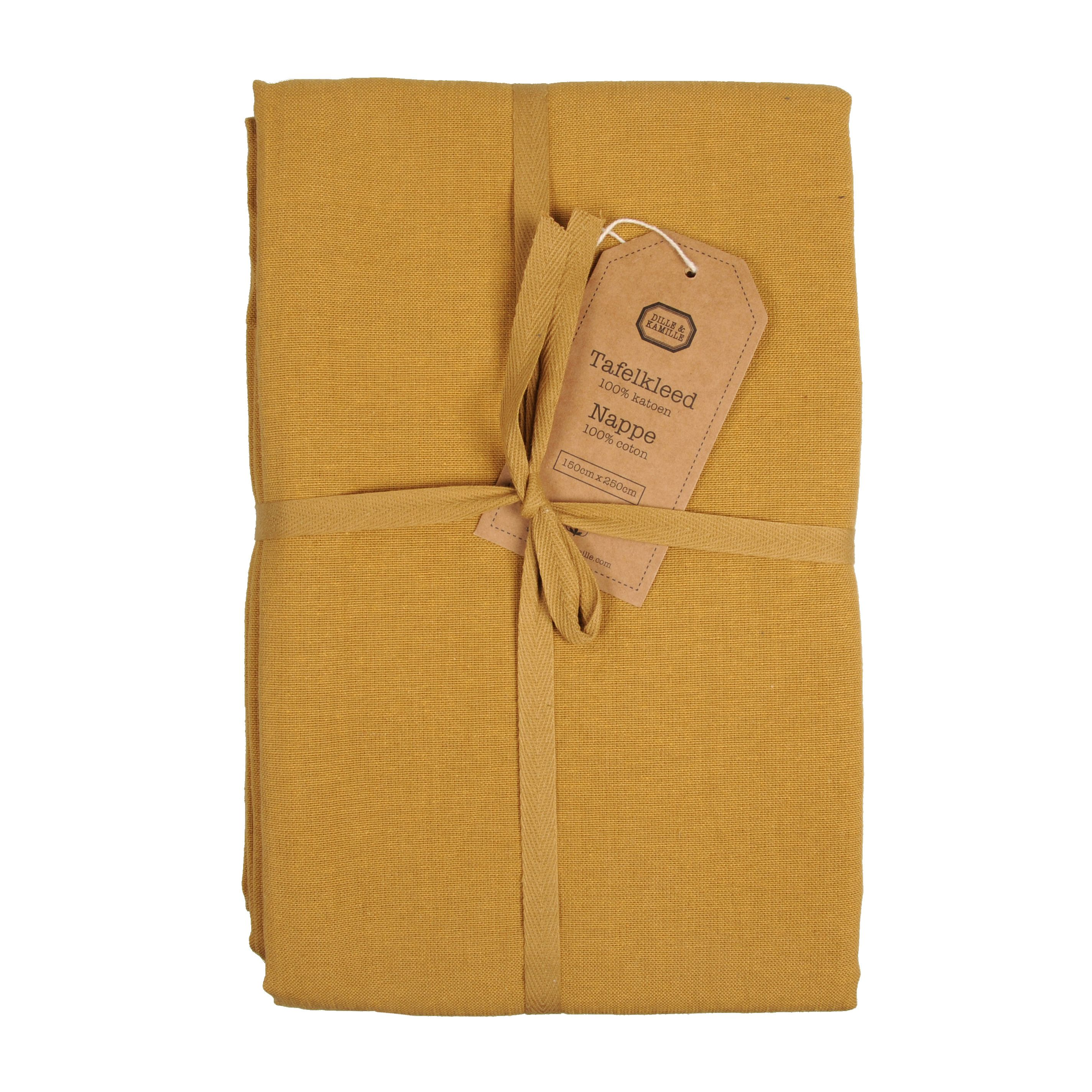 Beste Tafelkleed, geel, 140x180 cm NJ-63