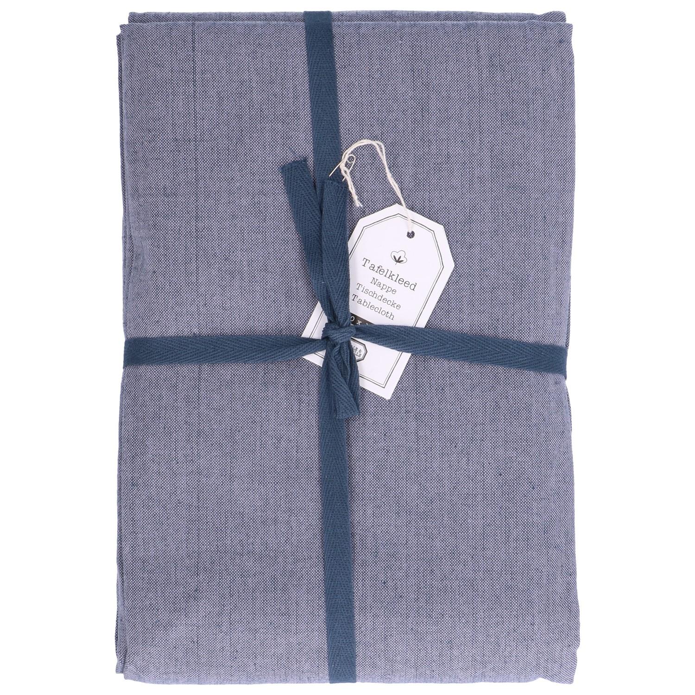 Beste Tafelkleed, katoen, blauw gemêleerd, 145 x 250 cm ZH-01
