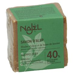 Seife, Aleppo, 40% Lorbeer, 185 g