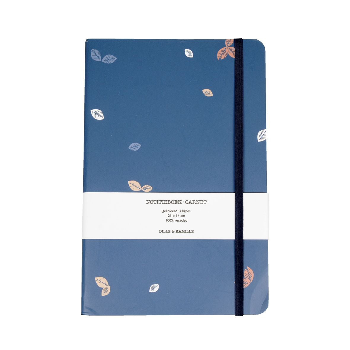Cahier, grand, feuillage multicolore