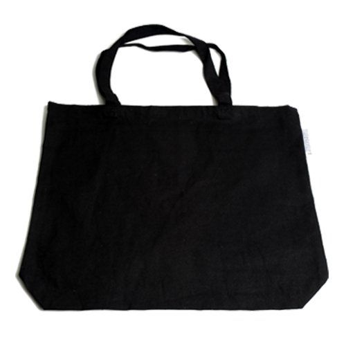 Sac canvas, noir