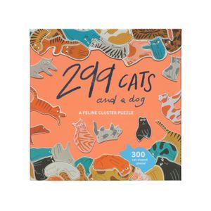 299 Katzen und ein Hund, puzzle