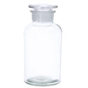 Apothekerspot, glas, Ø 10 x 21,5 cm