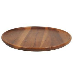 Assiette, bois d'acacia, Ø 35 cm