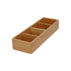 Aufbewahrungsbox Bambus, Nr. 1