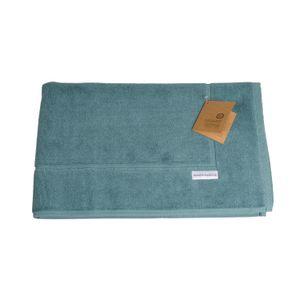 Badematte, Bio-Baumwolle, salbeigrün, 50 cm x 85 cm