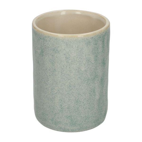 Beker keramiek blauw reactieve glazuur 73 cm