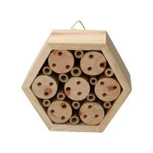 Bienenhotel, sechseckig, stapelbar