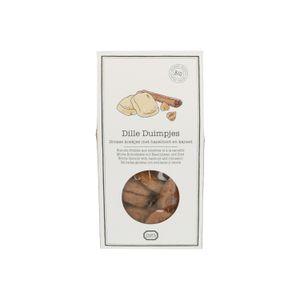 Biscuits Dille & Kamille, biologiques, aux noisetteset à la cannelle, 150 g