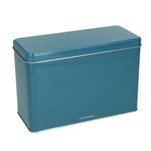 Blik, donkerblauw, 19,5 x 8,5 cm