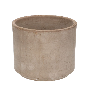 Bloempot, terracotta, grijs, Ø 21 cm