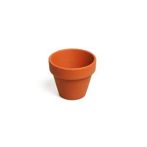 Bloempotje, roodsteen, Ø 6 cm