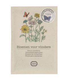 Bloemzaad, biologisch, voor vlinders