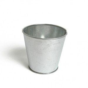 Blumentopf, Zink, Ø 9,5 cm