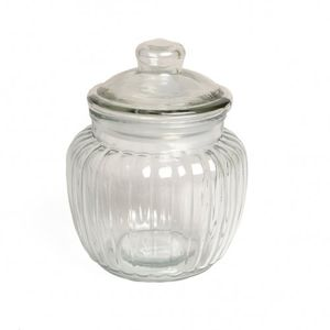 Bocal, verre, cannelé, 0,5 litres