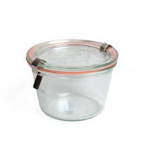 """Bocal """"Weck"""", avec accessoires, 370 ml"""