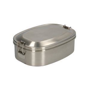 Boîte à déjeuner, acier inoxydable, 16,5 x 12 cm