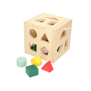 Boîtes à formes, bois, 12m+