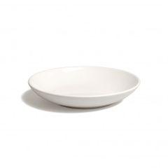 Bord diep 'Wit', aardewerk, Ø 23,5 cm