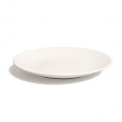 Bord diner 'Wit', aardewerk, Ø 26,5 cm