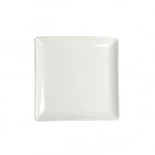 Bord vierkant porselein 12 x 12 cm