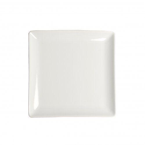 Bord vierkant porselein 16 x 16 cm