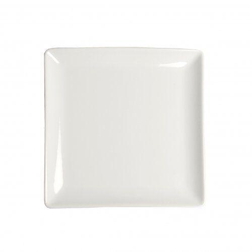 Bord vierkant porselein 21 x 21 cm