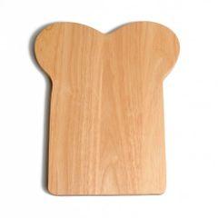 Boterhamplankje, rubberhout, 25,5 x16 cm