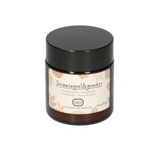 Bougie parfumée, orange & gingembre, 90 ml