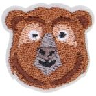Broche, ours, 3 x 3 cm