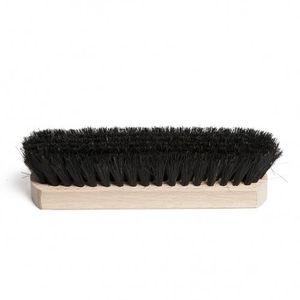 Brosse à chaussures, poils noirs