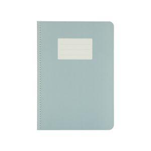 Cahier, bleu gris, A5