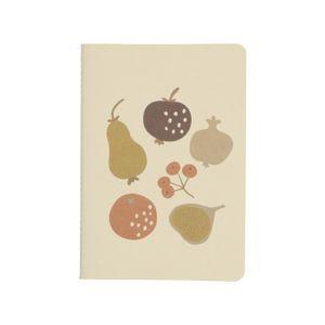 Cahier, fruits d'automne, A5