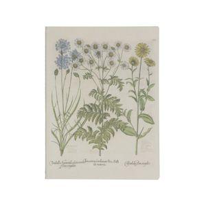 Cahier, marguerites, 25 x 19 cm
