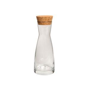 Carafe avec bouchon en liège, verre, 0,25 L