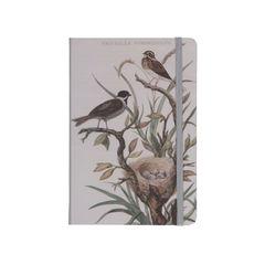 Carnet de notes, bruant roseau, 21 x 14 cm