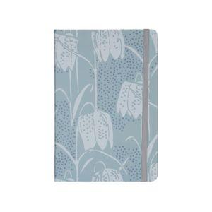 Carnet de notes, fleurs de vanneau, 21 x 14 cm