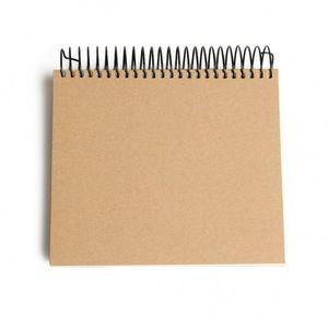 Carnet de notes, papier surligné, 16,5 x 16,5 cm