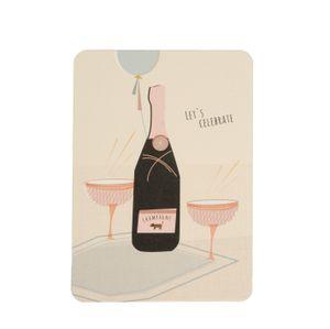 Carte, Let's celebrate