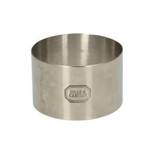 Cercle à dresser, inox, Ø 7 cm