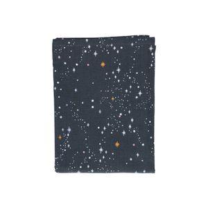Chemin de table, coton bio, ciel étoilé, 50 x 150 cm