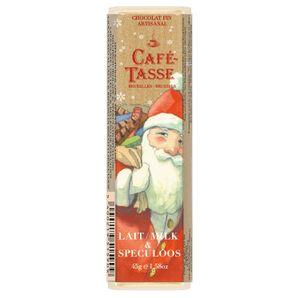 Chocola, kerst, melk & speculoos  45 gram