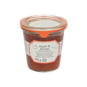 Confiture extra, pommes & cannelle, 320 g
