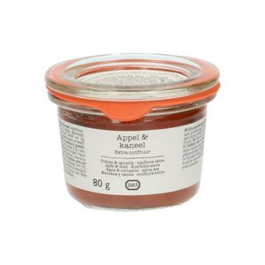 Confiture extra, pommes & cannelle, 80g