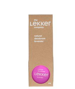 Créme-deodorant lavendel, 30 ml
