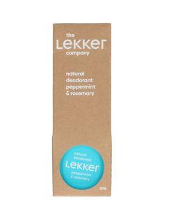 Créme-deodorant pepermunt/rozemarijn, 30 ml