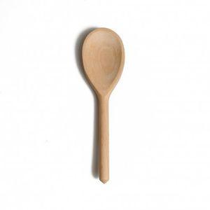 Cuillère, bois de hêtre, 20 cm
