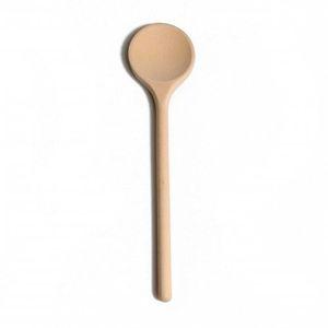 Cuillère, bois de hêtre, 30 cm